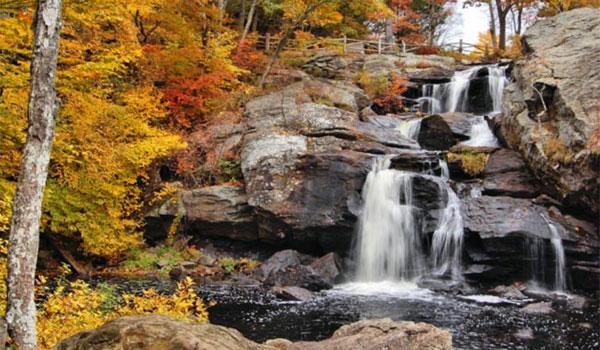 wodospady Connecticut