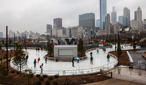 lodowisko Chicago