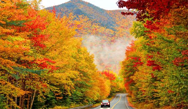jesień w Nowej Anglii