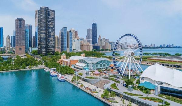 Navy Pier w Chicago