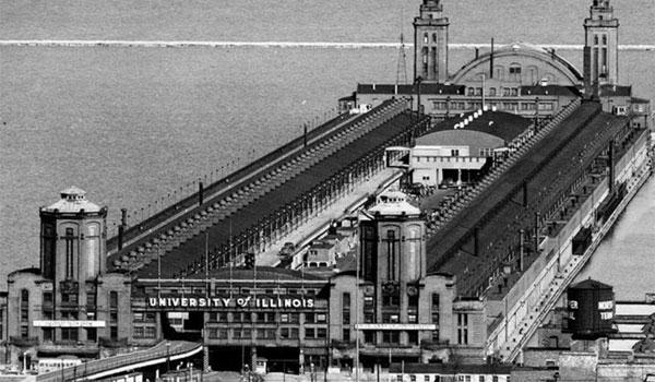 Navy Pier w przeszlosci