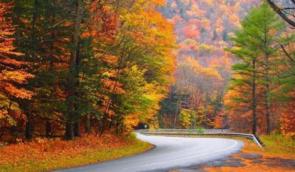 jesien w Nowej Anglii