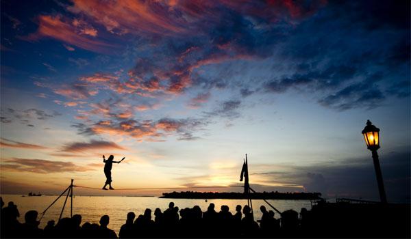 zachód słońca w Key West