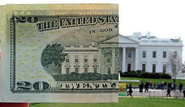 Biały Dom na banknocie
