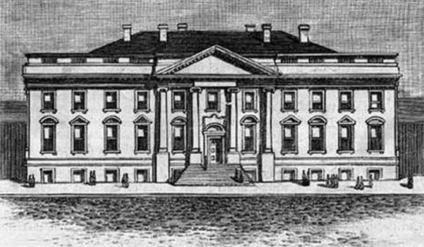 pierwszy budynek Białego Domu