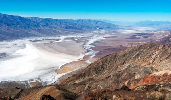 Dolina Śmierci Dantes View