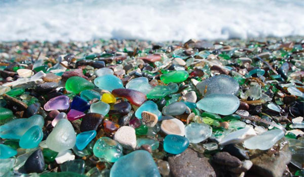 Szklana Plaża Kalifornia