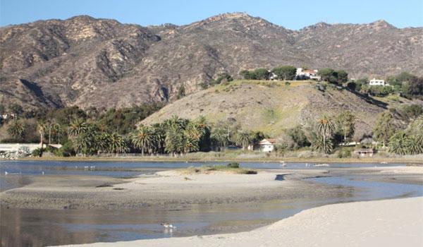plaża w Malibu