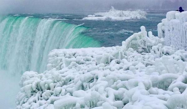 Niagara zimą