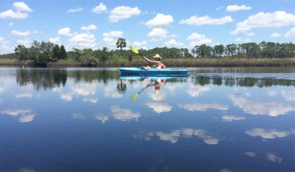 spływ kajakiem północna Floryda
