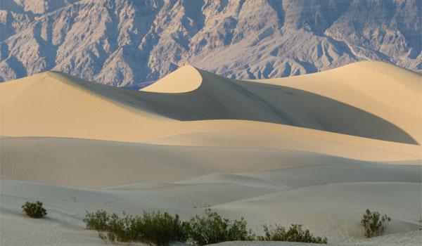 wydmy w Dolinie Śmierci