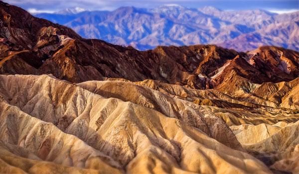 Dolina Śmierci Zabriskie point