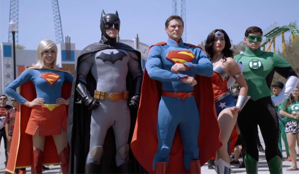 Justice League Six Flags