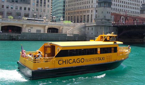 taksówka wodna Chicago
