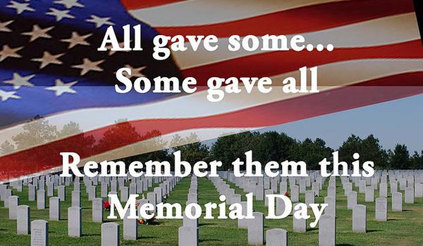 Memorial Day święto w USA