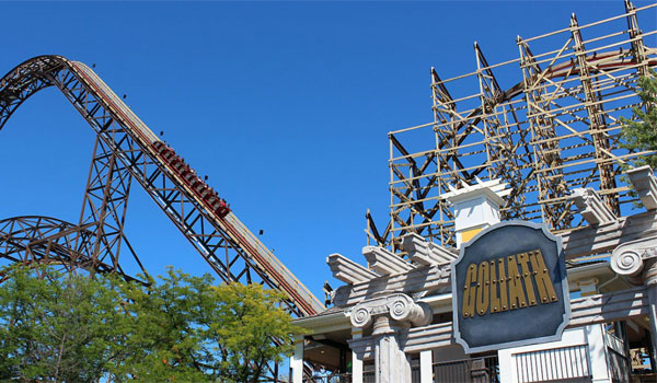 Six Flags Chicago Goliath