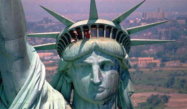 korona Statue of Liberty