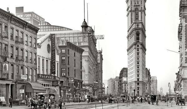 Times Square historia