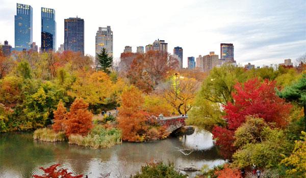 Nowy Jork jesienią