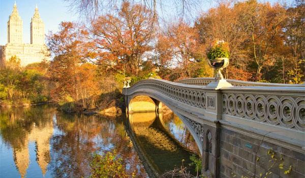 Central Park most Bow Bridge