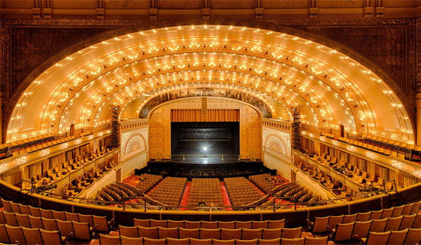 Chicago Theatre wycieczka