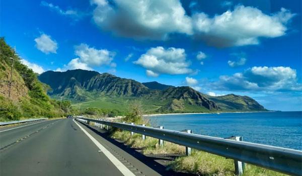 roadtrip na Hawajach
