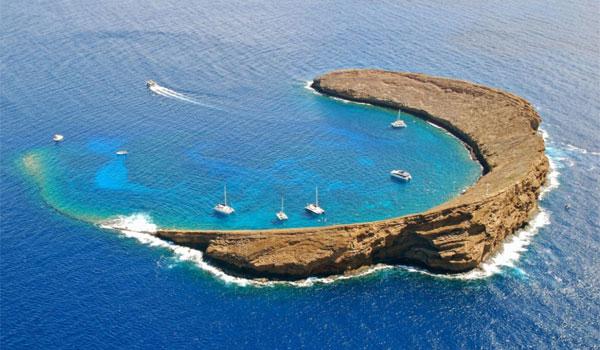 Hawaje Molokini