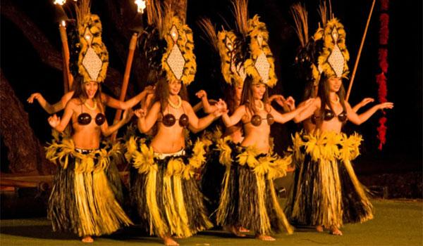 tancerki Hula Hawaje