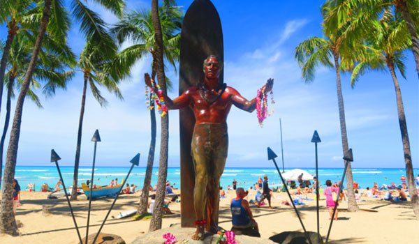Waikiki Duke posąg